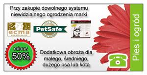 Ogrodzenie PetSafe + dodatkowa obroża
